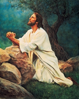 jesus-praying-by-rock